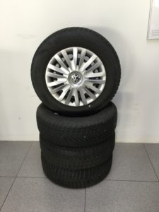 "Winterradsatz 15"" Stahl VW Caddy"