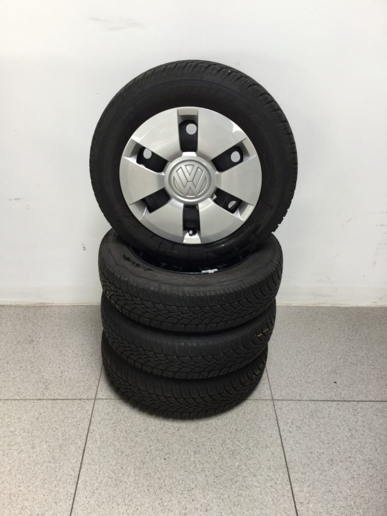 "Winterradsatz 14"" Stahl VW Up!"
